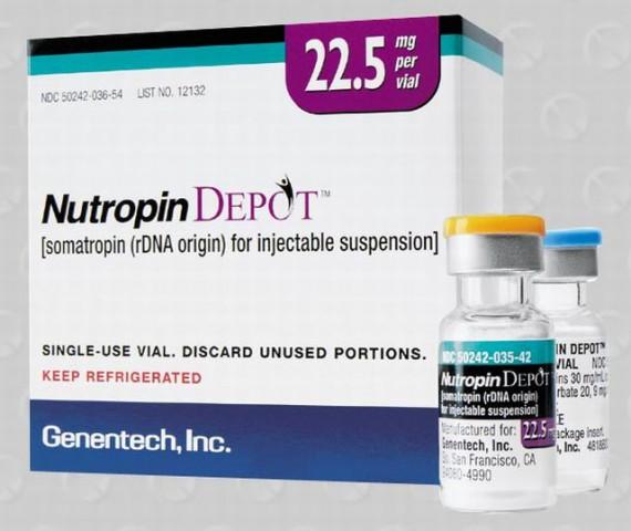 Nutropin Depot - human growth hormone (hGH)