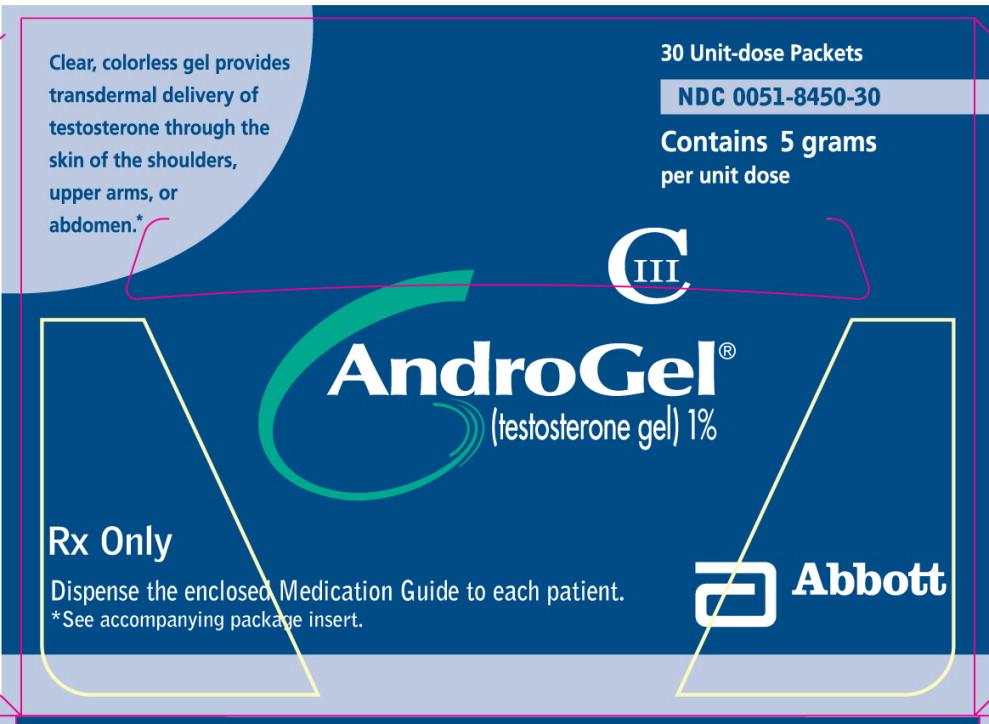 Androgel - testosterone gel