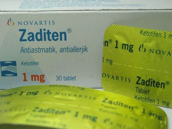 Ketotifen - Zaditen