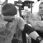 David Jacobs training with IFBB pro bodybuilder Branch Warren