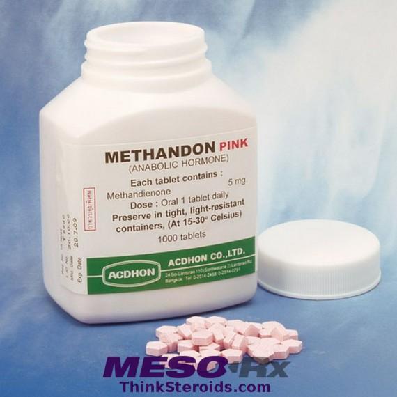 Dianabol aka Dbol (methandrostenolone, methandienone); Brand: Acdhon Methandon