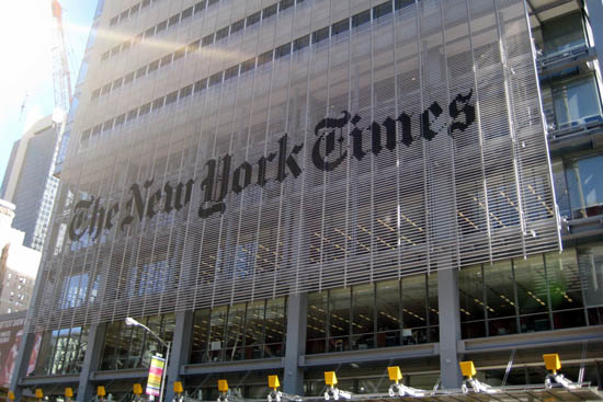 New York Times and anabolic steroids