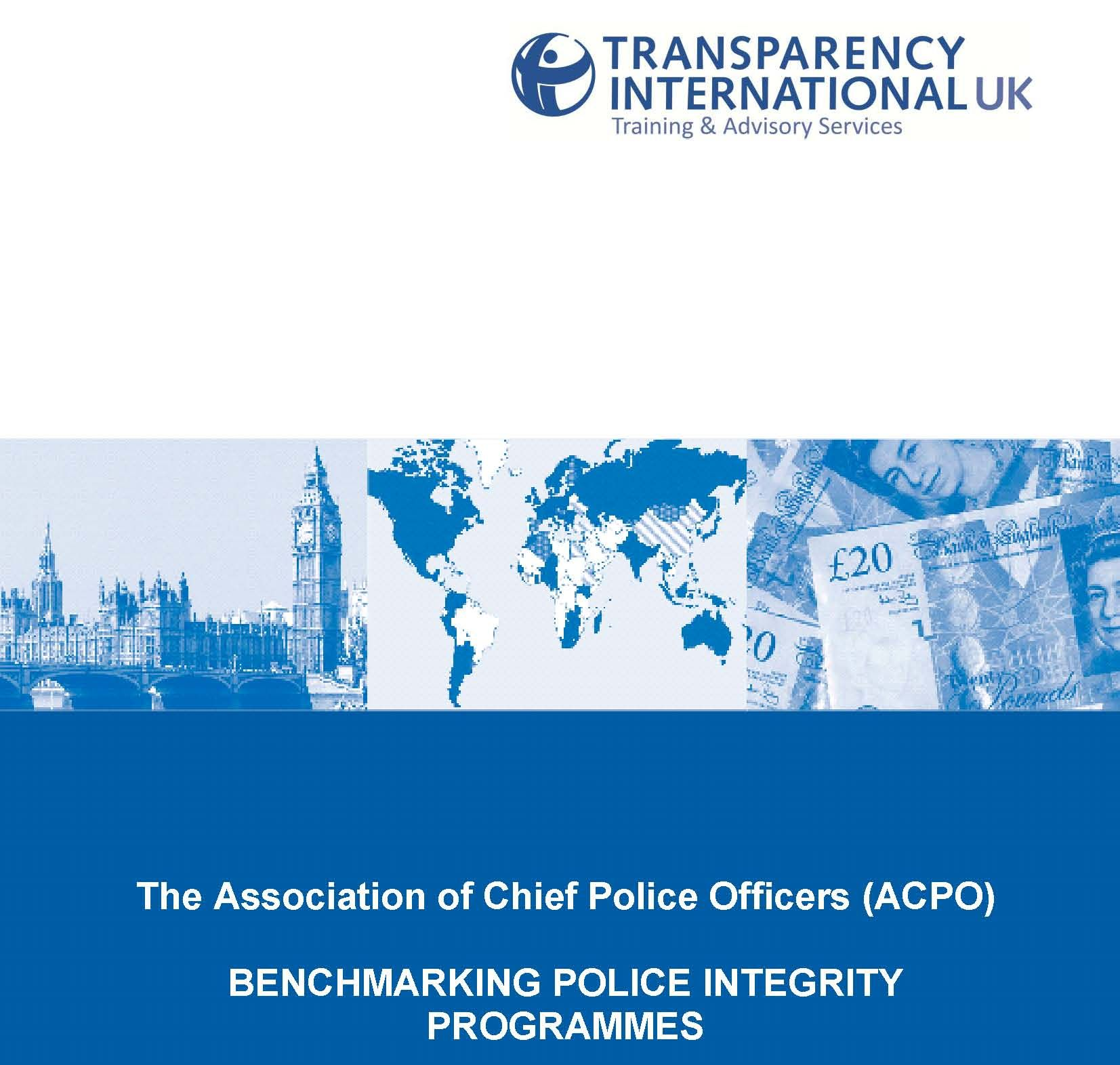 Transparency International - Cops, anabolic steroids and corruption in the United Kingdom